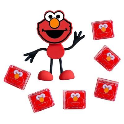 Glo Pals Sesame Street Character Elmo & 6 Light Up Water Cubes