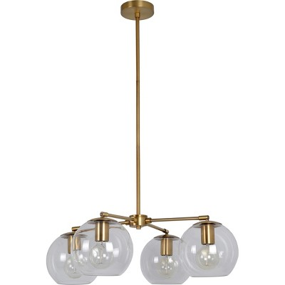 Madrot 4 Globe Chandelier Clear - Project 62™