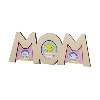 Hand Made Modern MOM Unfinished Craft Product