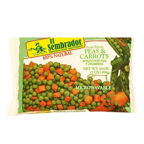 El Sembrador Fresh Frozen Peas & Carrots - 16oz - image 1 of 1