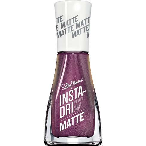 Sally Hansen Insta-Dri Nail Color - 015 Burnished Wine - 0.31 fl oz - image 1 of 4