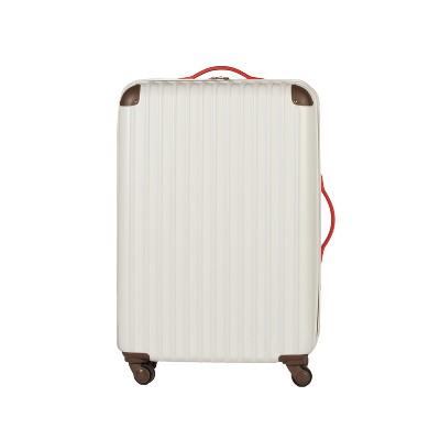 Love Taza 28  Hardside Spinner Suitcase - Cream