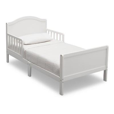 Delta Children Bennett Toddler Bed - Bianca White