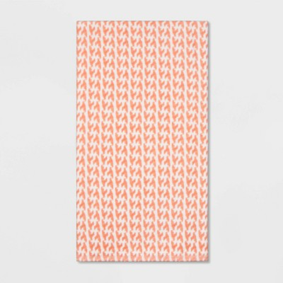 Lionstooth Bath Towel Coral - Threshold™