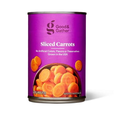Sliced Carrots 14.5oz - Good & Gather™