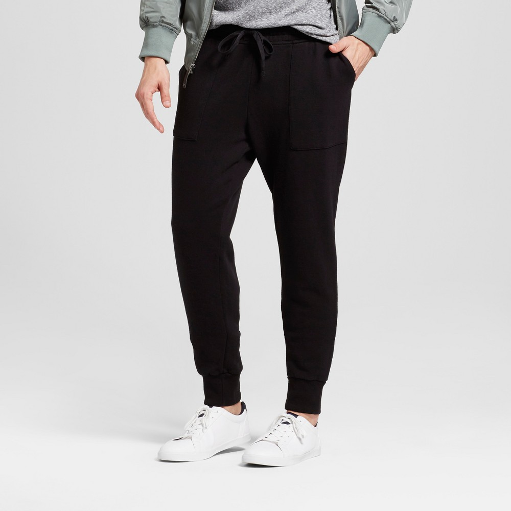 Men's Jogger Pants - Goodfellow & Co Black M
