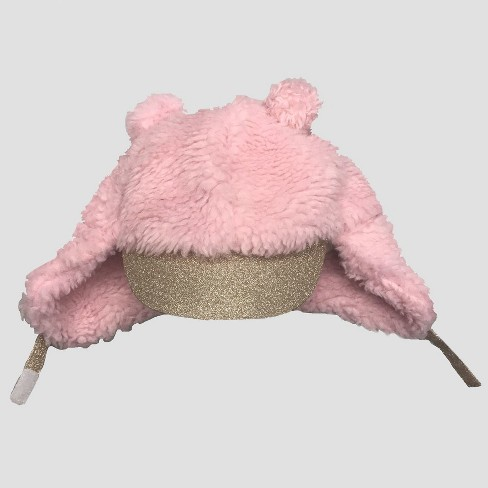 63ceb0950d1 Baby Girls  Trapper Hat - Cat   Jack™ Pink 12-24M   Target