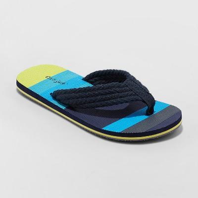 Boys Logan Flip Flop Sandals Cat Jack Navy