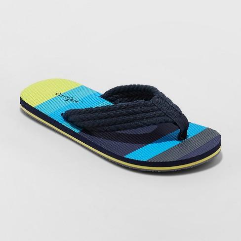 48ab931d4127 Boys  Logan Flip Flop Sandals - Cat   Jack™ Navy   Target