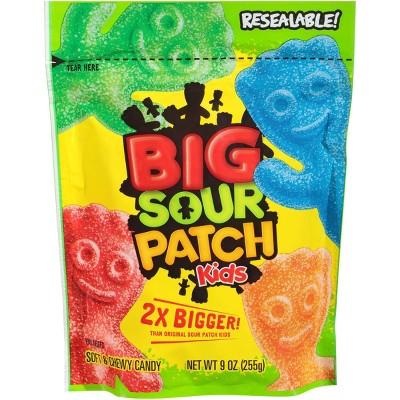 Gummy Candies: BIG Sour Patch Kids