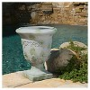 "20"" Moroccan Fiber Stone Patio Urn - Christopher Knight Home - image 2 of 4"