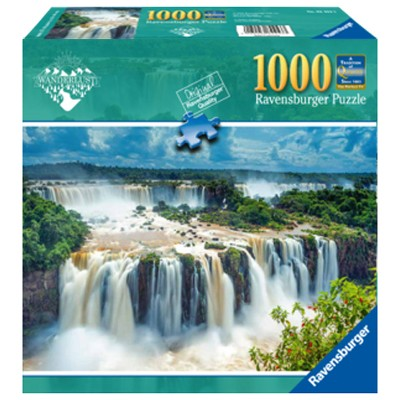 Ravensburger Wonderlust: Brazil Iguazu Waterfalls Puzzle 1000pc