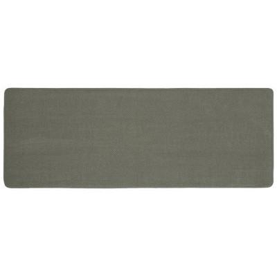 "22""x60"" Bubble Memory Foam Bath Rug Light Gray - Threshold™"