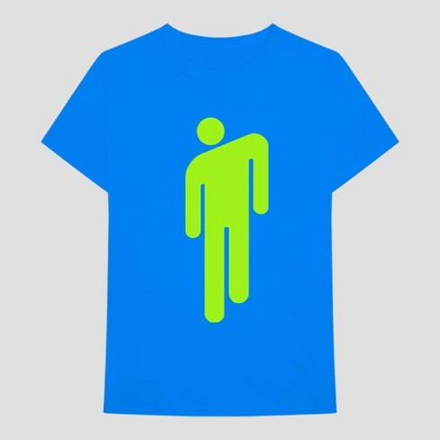 Adult Billie Eilish When We Fall Asleep Short Sleeve T-Shirt - Blue - image 1 of 2
