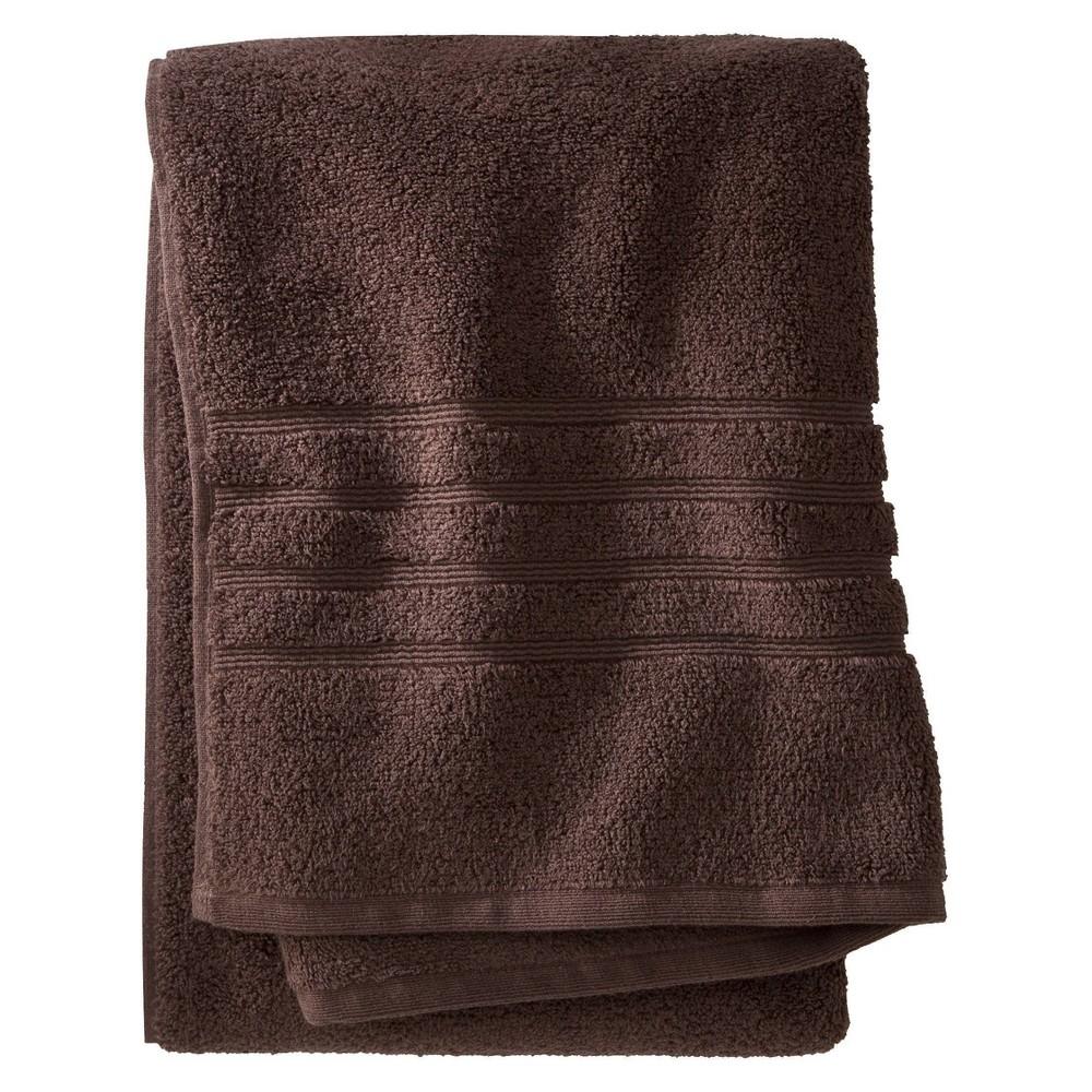 Luxury Bath Towel Morel Brown Fieldcrest 8482