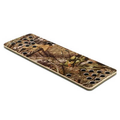 Floatation iQ HydraPong Floating Foam Swimming Pool Lounge Lake Party Game Board Beer Pong Table Mat with 4 Ping Pong Balls, Break Up Country Camo