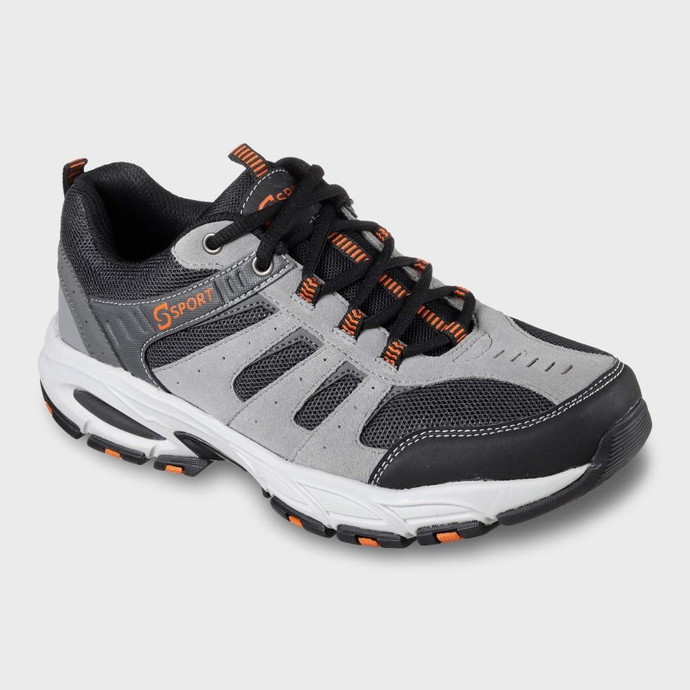 Men's Sport Designed by Skechers Feint Athletic Sneakers - Gray 12, Gray White Orange