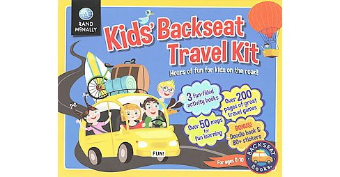 Kids' Backseat Travel Kit : Hours of Fun for Kids on the Road! (Paperback) - image 1 of 1
