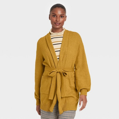 Women's Self Tie Shawl Cardigan - Who What Wear™ - image 1 of 3