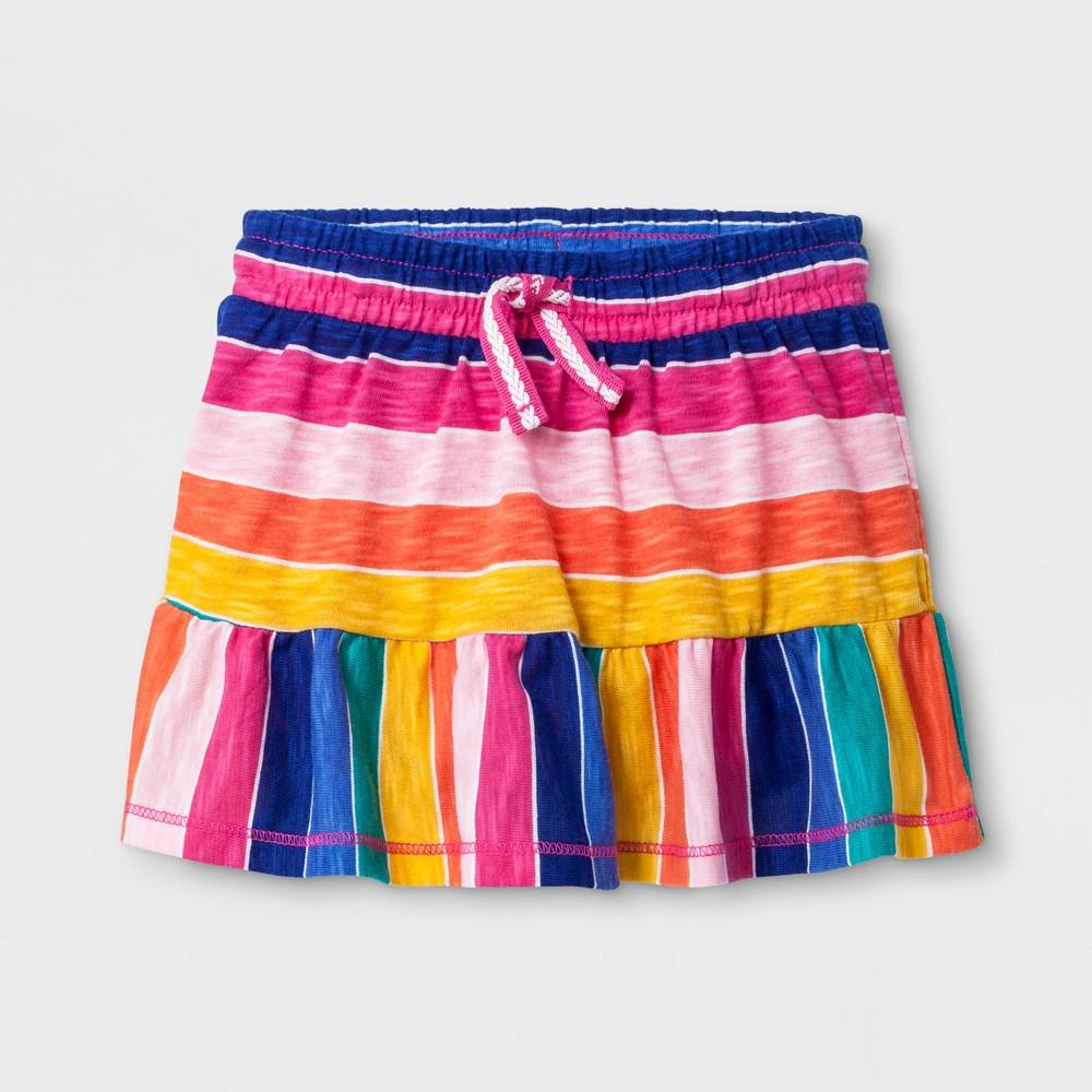 Toddler Girls' A-Line Skirt - Cat & Jack Magenta Pink 3T