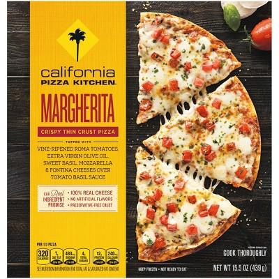 "California Pizza Kitchen Crispy Thin Crust Margherita Frozen Pizza - 12"" - 15.5oz"