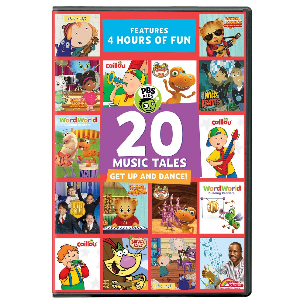 Pbs Kids: 20 Music Tales (Dvd)