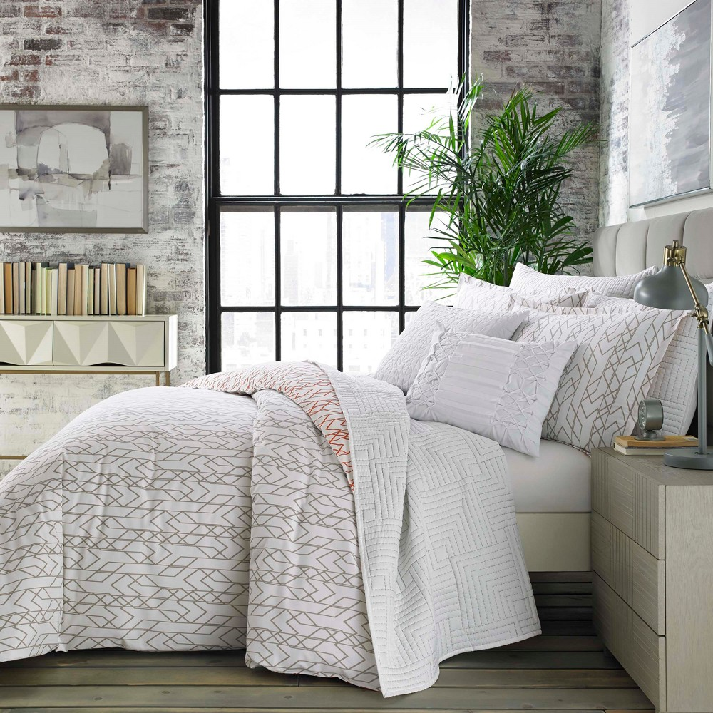 White Nile Comforter Set (King) - City Scene