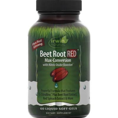 Irwin Naturals Beet Root Red Dietary Supplement Softgels - 60ct