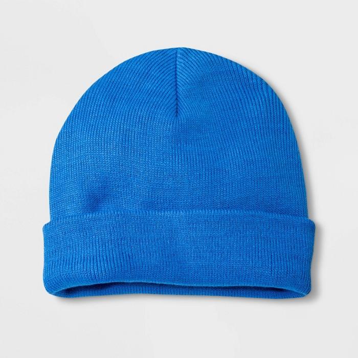 Boys' Hat - Cat & Jack™ Blue One Size - image 1 of 1