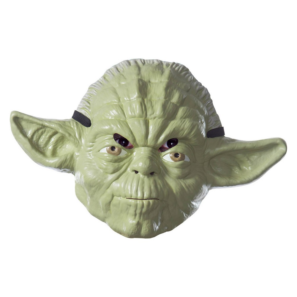 Image of Halloween Adult Star Wars Yoda Costume Mask, Adult Unisex