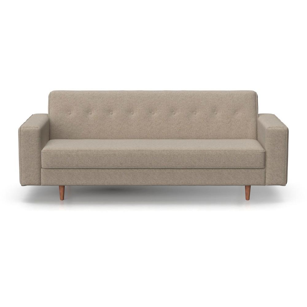 Image of Jasper Mid Century Modern Sofa Heather Gray - AF Lifestlye, Grey Gray