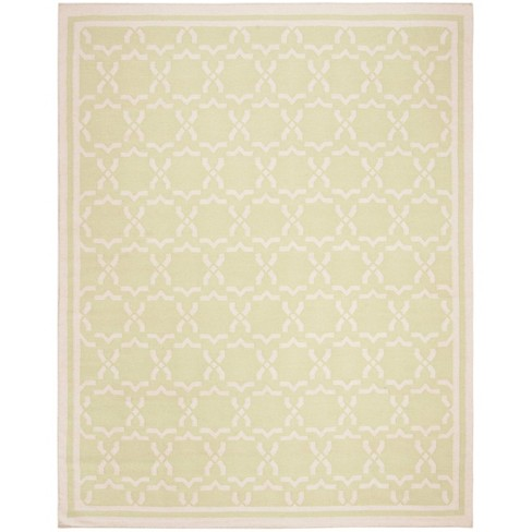 Casablanca Dhurry Rug - Light Green/Ivory - (10'x14') - Safavieh - image 1 of 5