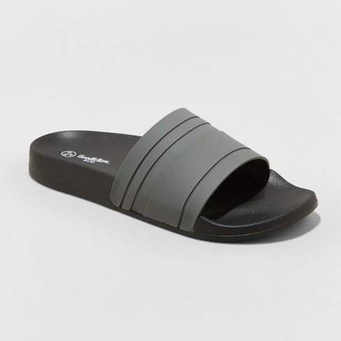 8f072e1aa7 Men's Ricky Slide Sandal - Goodfellow & Co™ Gray