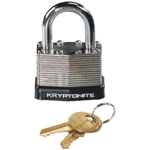 Kryptonite Laminated Steel Padlock with Flat Key - image 1 of 1