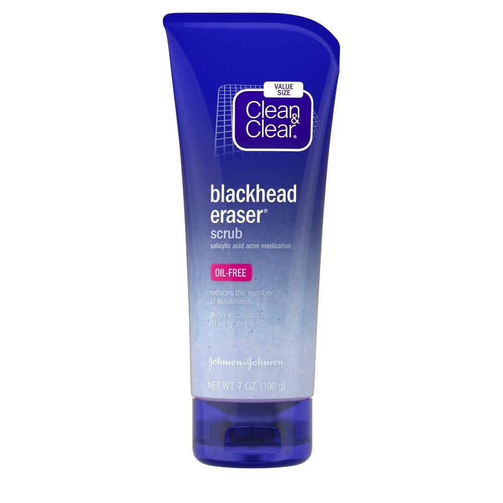 Image of Clean & Clear Blackhead Eraser Facial Scrub with Salicylic Acid - 7oz