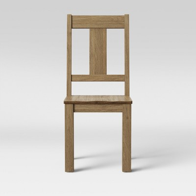 Set of 2 Litchfield Vertical Back Dining Chair Natural - Threshold™