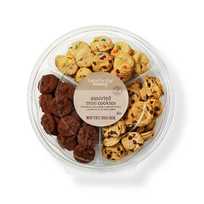 Mini Cookie Tray Variety Pack - 21oz - Favorite Day™
