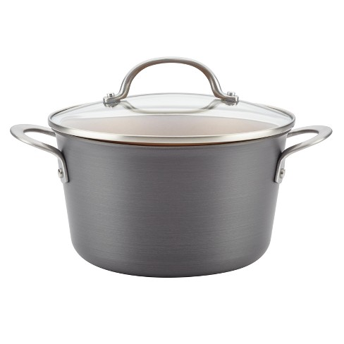 Ayesha Curry™ 4.5qt Home Collection Hard Anodized Aluminum Covered Saucepot - image 1 of 3
