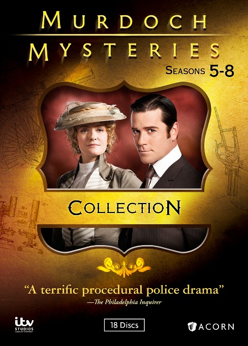 Murdoch mysteries:Collection 5-8 (DVD) - image 1 of 1