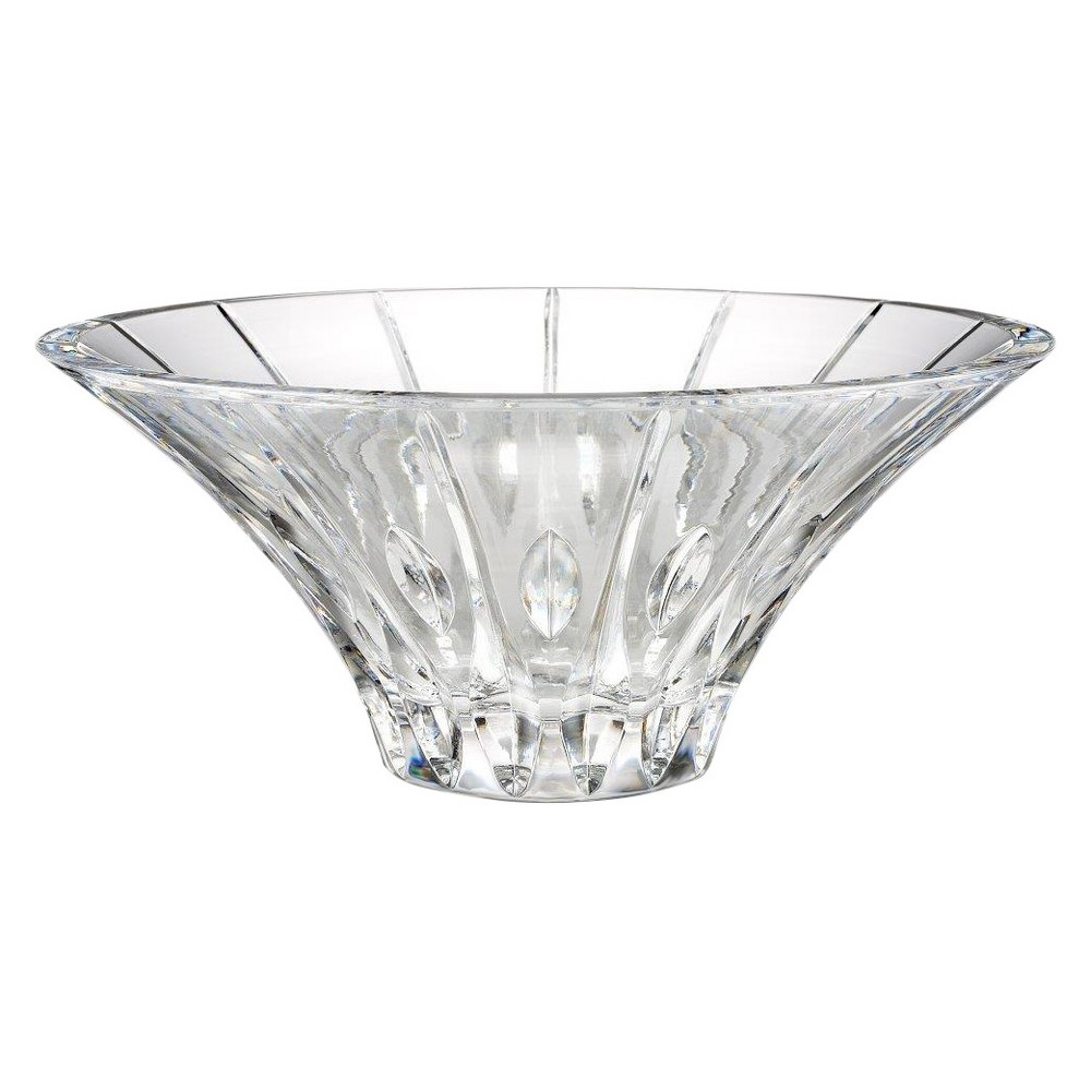 Marquis By Waterford Sheridan Flared 10-in Bowl, Light Clear