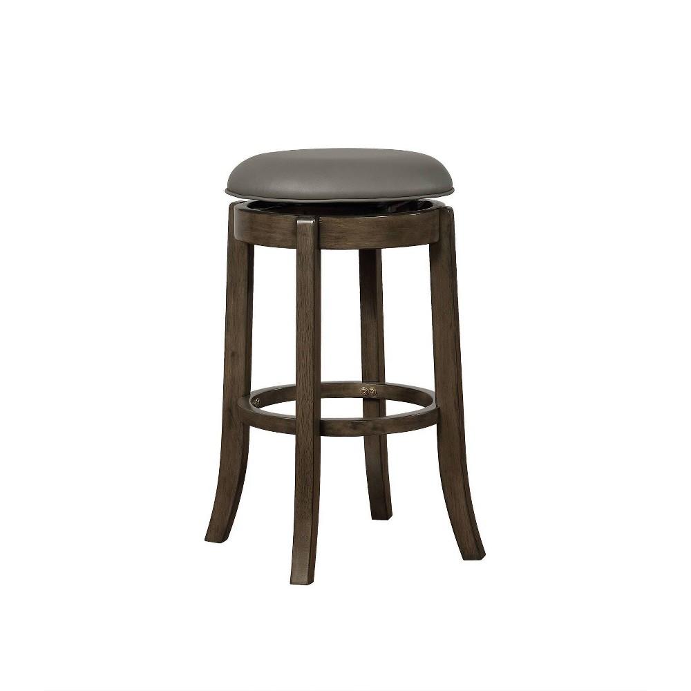 Stupendous 29 Jasper Barstool Gray Powell Company Andrewgaddart Wooden Chair Designs For Living Room Andrewgaddartcom
