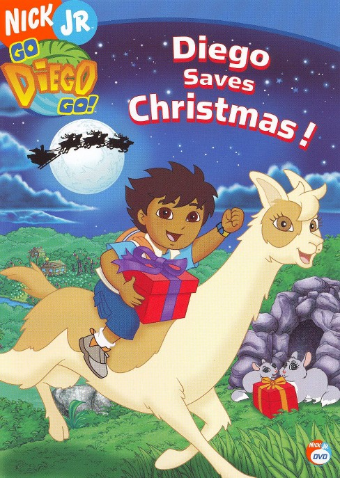 Go Diego Go!: Diego Saves Christmas (dvd_video) - image 1 of 1