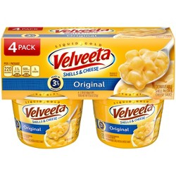 Kraft Velveeta Shells & Cheese Original 4pk