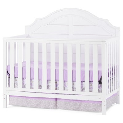 Child Craft Penelope 4-in-1 Convertible Crib  - Matte White