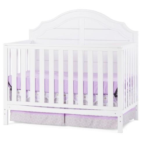 Child Craft Penelope 4-in-1 Convertible Crib  - Matte White - image 1 of 4
