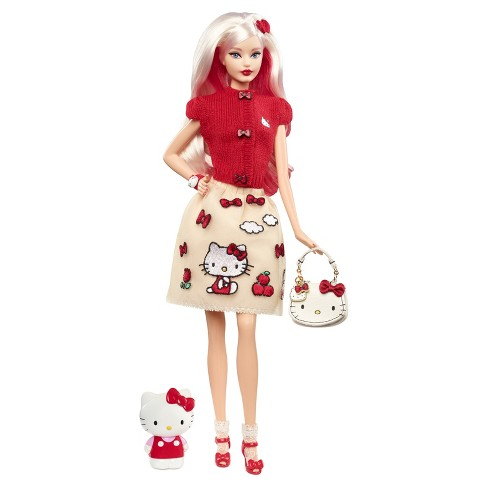 3f67da58a Barbie Collector Hello Kitty Doll : Target