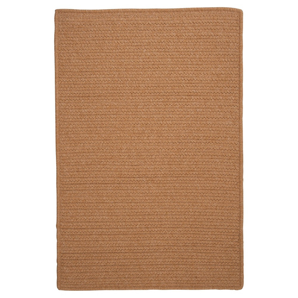 Westminster Wool Blend Braided Area Rug - Evergold - (8'x11') - Colonial Mills