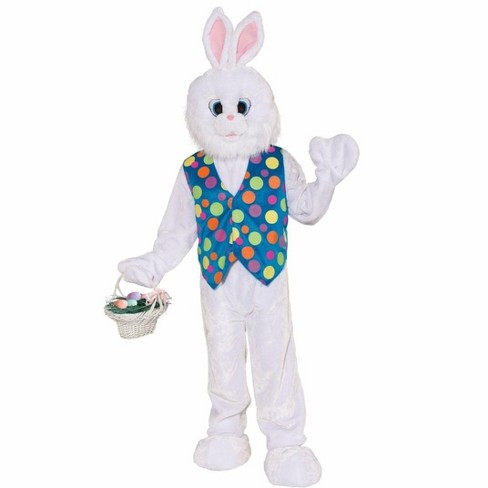 Forum Novelties Funny Easter Bunny Plush Adult Costume - image 1 of 1