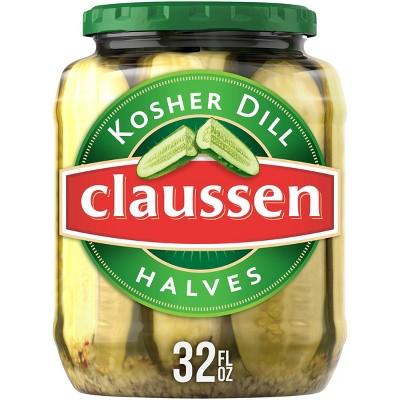 Claussen Halves Kosher Dill - 32oz