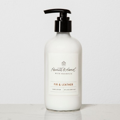 Hand Lotion Fir & Leather - Hearth & Hand™ with Magnolia
